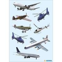 Herma stickers vliegtuigen 3 vel 3442 (Locatie: HE004)