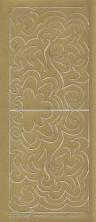 Stickervel goud hoekjes 3065 (Locatie: D44)