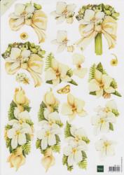 Marianne design knipvel bloemen MB0071 (Locatie: 4729)
