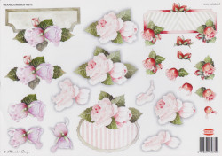 Wekabo knipvel bloemen nr. 675 (Locatie: 1136)