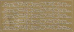 Stickervel Hoera een dochter goud 1664 (Locatie: B220)