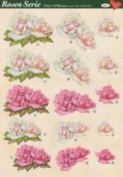 Hearty Crafts knipvel rozen 1 (Locatie: 2757)