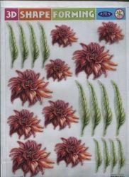 3D Shape Forming bloemen 3Dshapeforms63 (Locatie: 733)