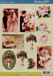 Hobby Idee knipvel huwelijk HI-0042 (Locatie: 5830)