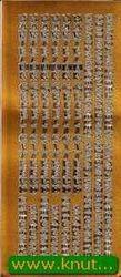 Voorbeeldkaarten sticker goud 3041 (Locatie: S149)