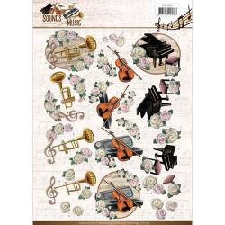 Amy Design knipvel muziek CD11063 (Locatie: 2660)