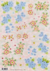 Anne Design knipvel bloemen 2461 (Locatie: 1245)