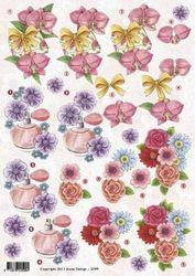 Anne Design knipvel bloemen/cadeau 2599 (Locatie: 2586)