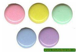 Brad rond pastel 25 stuks 20811/022 (Locatie: K2)