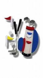 Darice foam stickers Golf 1032-51 (Locatie: 1E )