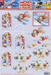 Disney knipvel Mickey Mouse & Friends STAPDIS33 (Locatie: 1739)