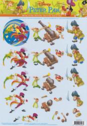 Disney knipvel Peter Pan STAPP04 (Locatie: 0531)