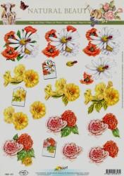 Doe Maar knipvel bloemen 11 053 313 - 11 053 315 (Locatie: 4404)