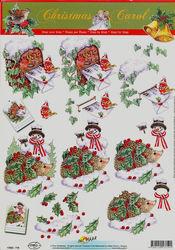 Doe maar knipvel kerst 11053-719 (Locatie: 2356)