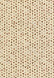 Doodey achtergrondpapier Cupcakes creme/bruin DV94516 (Locatie: 2762)