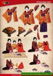 Doodey knipvel vrouwen oriental DV 92503 (Locatie: 6639)