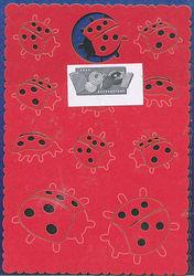 Doodey pop outs lieveheersbeestjes SPC5942 (Locatie: L172 )