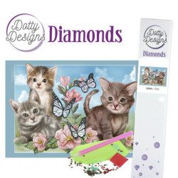 Dotty Designs Diamonds - Cats DDD1014