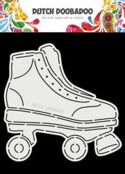 Dutch Doobadoo Card Art Rollerskates A5 stencil 470.713.756 (Locatie: 1420)