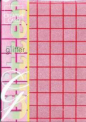 Glitterpapier rood 86220 (Locatie: 6508)