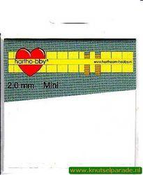 Hartho-bby foampads mini wit 2,0 mm 64020 (Locatie: K2)
