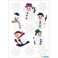 Herma stickers magic sneeuwpop glitter 1 vel 3733 (Locatie: HE027)
