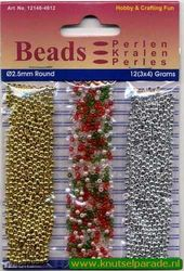 Hobby & Crafting Fun beads 2,5 mm 12146-4612 (Locatie: K3)