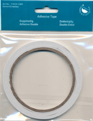 Hobby & Crafting Fun dubbelzijdig tape 6 mm x 13 mtr. 11414-1306