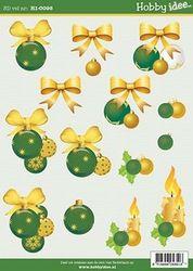 Hobby idee knipvel kerst HI0095 (Locatie: 5549)