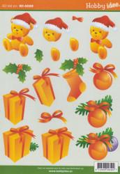 Hobby-idee knipvel kerstmis HI-0093 (Locatie: 2778)