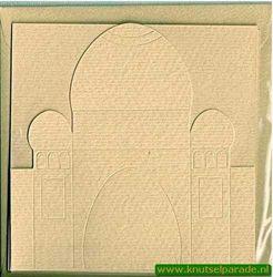 Ilses tempel, 3x kaart, 3x envelop zand nr. 21024/3 (Locatie: OO035 )