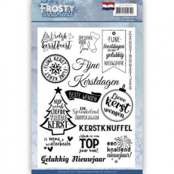 Jeanine's Art Clear Stamp Frosty ornaments JACS10018 (Locatie: K126)