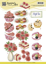 Jeanine's Art knipvel High Tea CD10822 (Locatie: 4304)