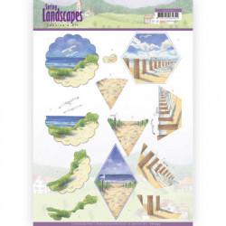 Jeanine's Art knipvel landschappen CD11295 (Locatie: 4337)