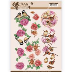 Jeanine's Art knipvel vogels en bloemen CD11221 (Locatie: 4629)