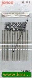 Jonco borduurnaalden 16 stuks 5 (Locatie: )