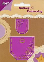 Joy! Crafts 2 snij- embosmallen broekzakken 6002/0060 (Locatie: D122)