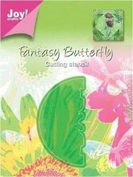 Joy! Crafts cutting stencil vlinders rond 6003/0013 (Locatie: J497 )