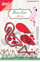 Joy!Crafts snij- en embosmal Flamingo 6002/1255 (Locatie: B297)
