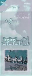 Joy! Crafts snijmal Open Up Christmas 6003/2006 (Locatie: grve)