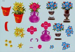 Knipvel bloemen 01-03 (Locatie: 704)