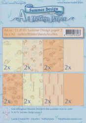 Le Crea Design, design paper, Summer Design, A5 51.8183 (Locatie: s2)