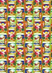 Le Suh achtergrond papier A4 kerst 555005 (Locatie: 6554)
