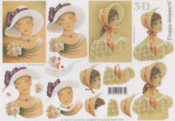 Le Suh dame met hoed nr. 4169678 (Locatie: 1119)