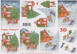 Le Suh knipvel kerstmis 4169574 (Locatie: 2690)