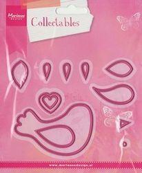 Marianne Design Collectables mal Bird COL1301 (Locatie: i541 )