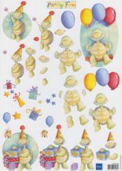 Marianne Design knipvel party fun FUN0003 (Locatie: 0502)