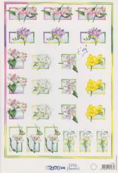 Marianne knipvel bloemen nr. IT 465 (Locatie: 1303)