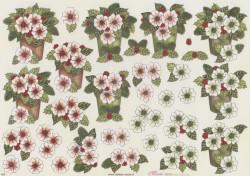 mireille knipvel bloemen X59 (Locatie: 1317)