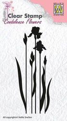 Nellie Snellen Clear stamp Condolence Flower-4 CSCF004 (Locatie: NN301 )